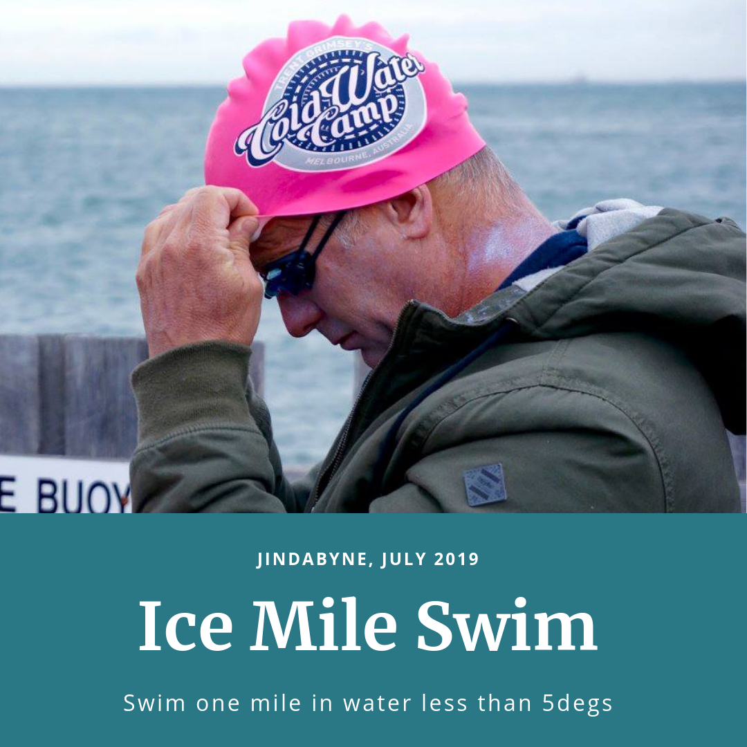 Ice Mile Swim