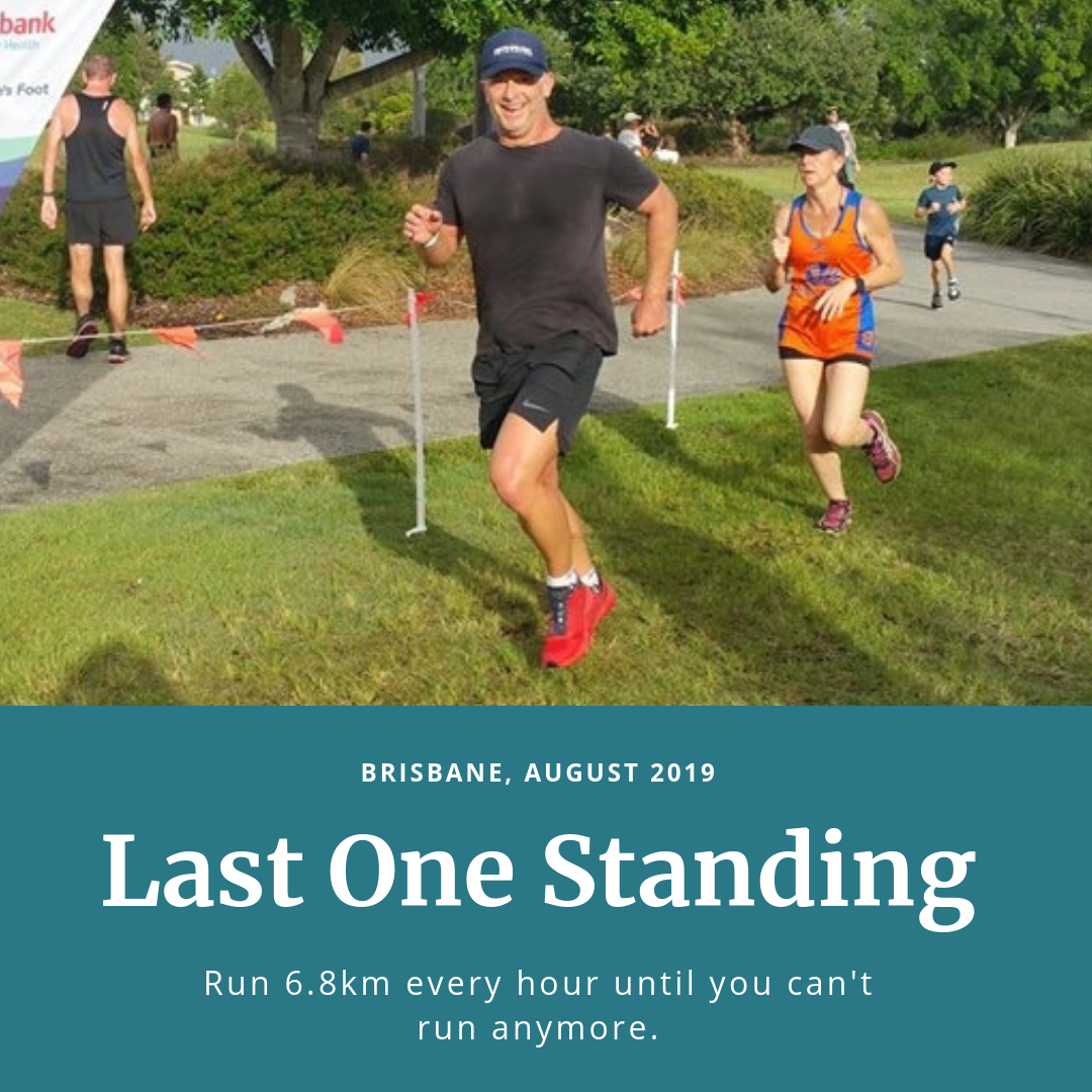 Last One Standing Ultramarathon Run